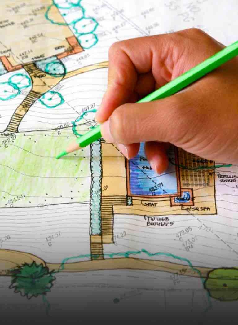 Проект планирование участка в Киеве