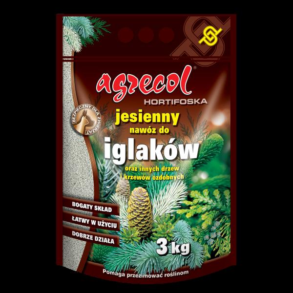 Удобрение Agrecol Hortifoska осеннее для хвойных растений