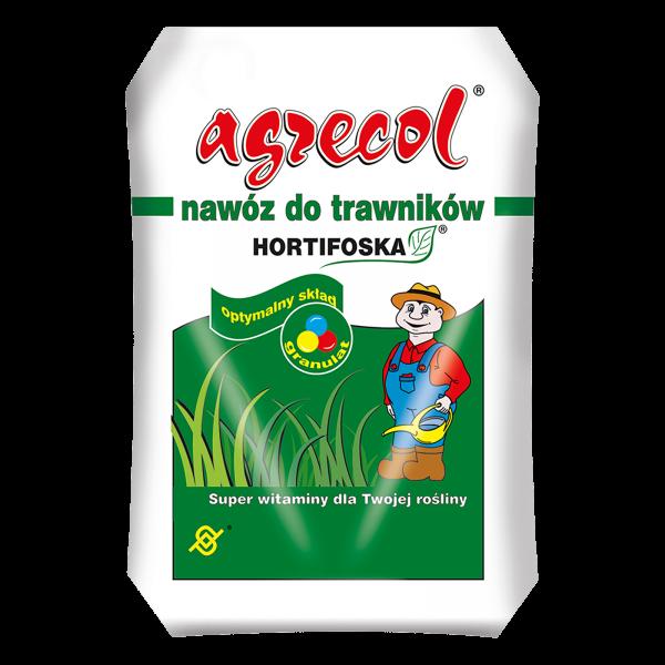 Удобрение Agrecol Hortifoska осеннее для газонов, 25кг