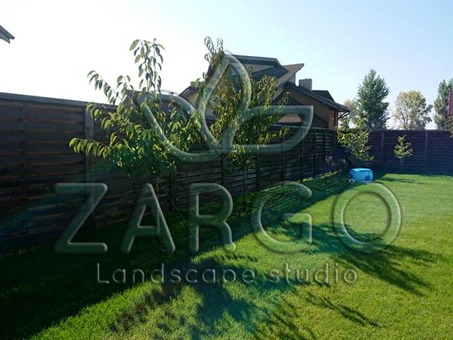 Укладка газона и посадка растений (с. Вишенки) | ZARGO Landscape ...