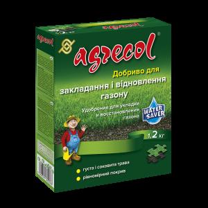 Удобрение Agrecol для закладки и восстановления газона, 1,2кг