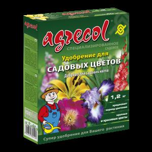 Удобрение Agrecol для садовых цветов, 1,2кг