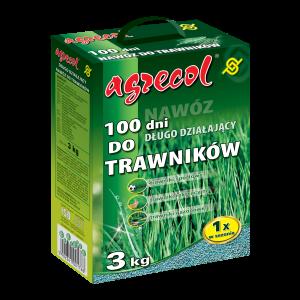 Удобрение Agrecol 100 дней удобрение для газона, 3кг