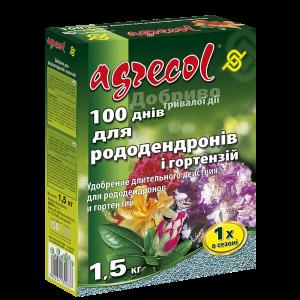Удобрение Agrecol 100 дней удобрение для рододендронов, 1,5кг