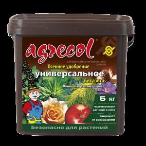 Удобрение Agrecol осеннее универсальное, 5кг
