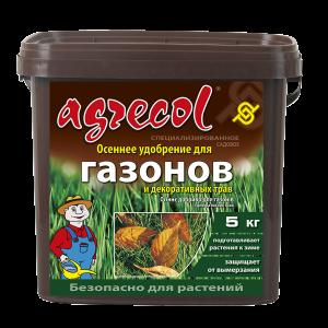 Удобрение Agrecol осеннее для газонов, 5кг