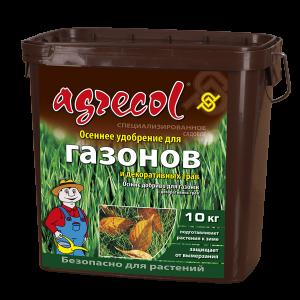 Удобрение Agrecol осеннее для газонов, 10кг