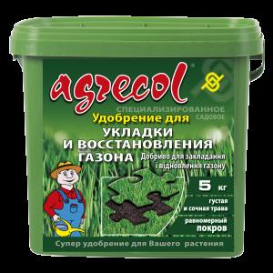 Удобрение Agrecol для закладки и восстановления газона, 5кг